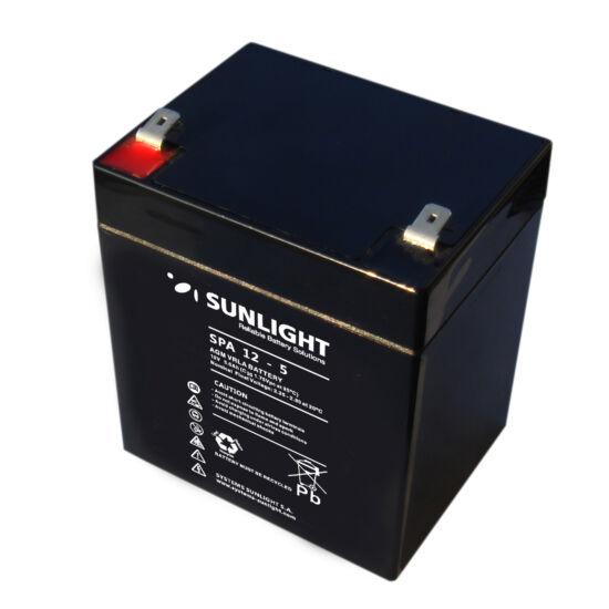 Sunlight Akkumulátor 12V/5 Ah zárt, gondozásmentes