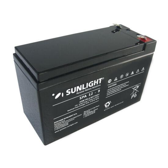 Sunlight Akkumulátor 12V/9 Ah zárt, gondozásmentes